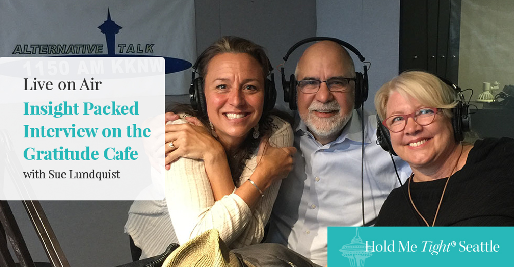 Our Insight-Packed Radio Interview on the Gratitude Cafe